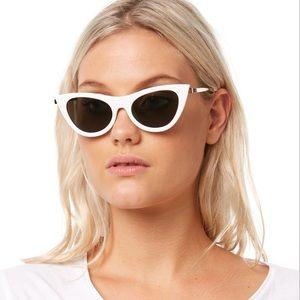 "Le Specs ""Enchantress"" cat eye sunglasses"